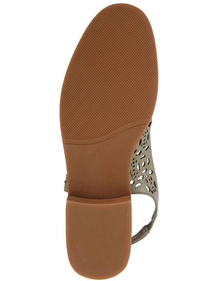 Scribe Khaki Glove Flat Shoes image 6