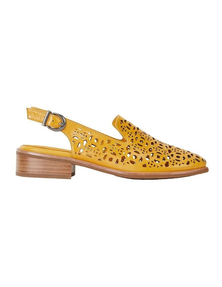 Scribe Mustard Glove Flat Shoes image 1