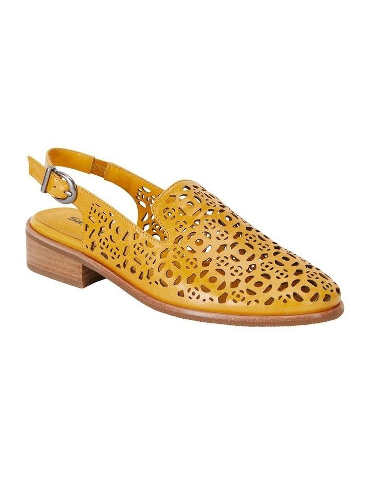 Scribe Mustard Glove Flat Shoes image 2