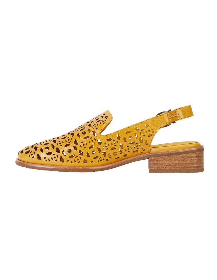 Scribe Mustard Glove Flat Shoes image 3