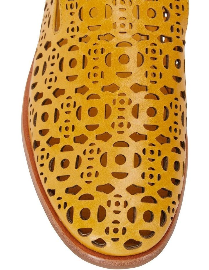 Scribe Mustard Glove Flat Shoes image 4