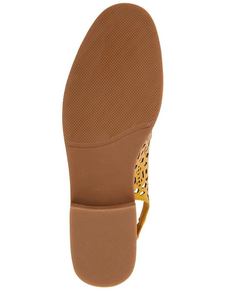 Scribe Mustard Glove Flat Shoes image 5