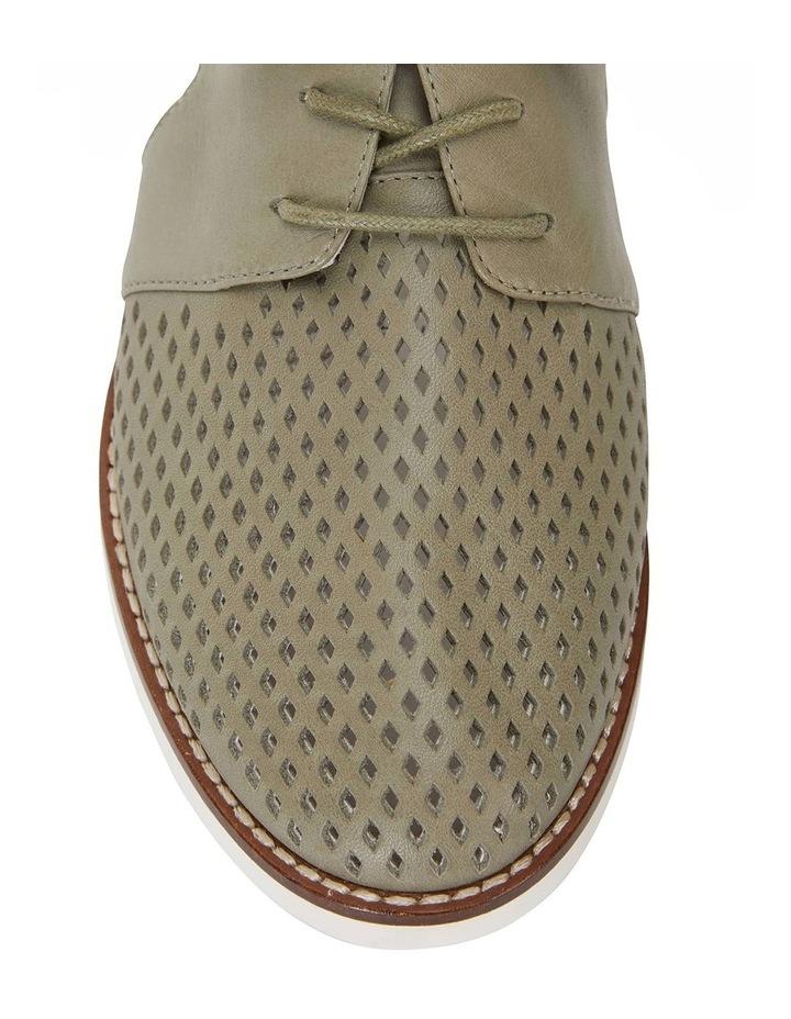 Sharon Khaki Glove Flat Shoes image 5