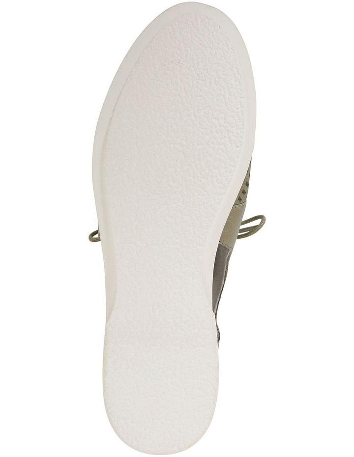 Sharon Khaki Glove Flat Shoes image 6