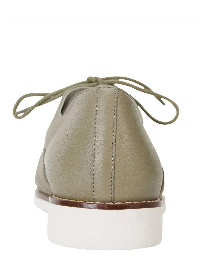 Sharon Khaki Glove Flat Shoes image 7