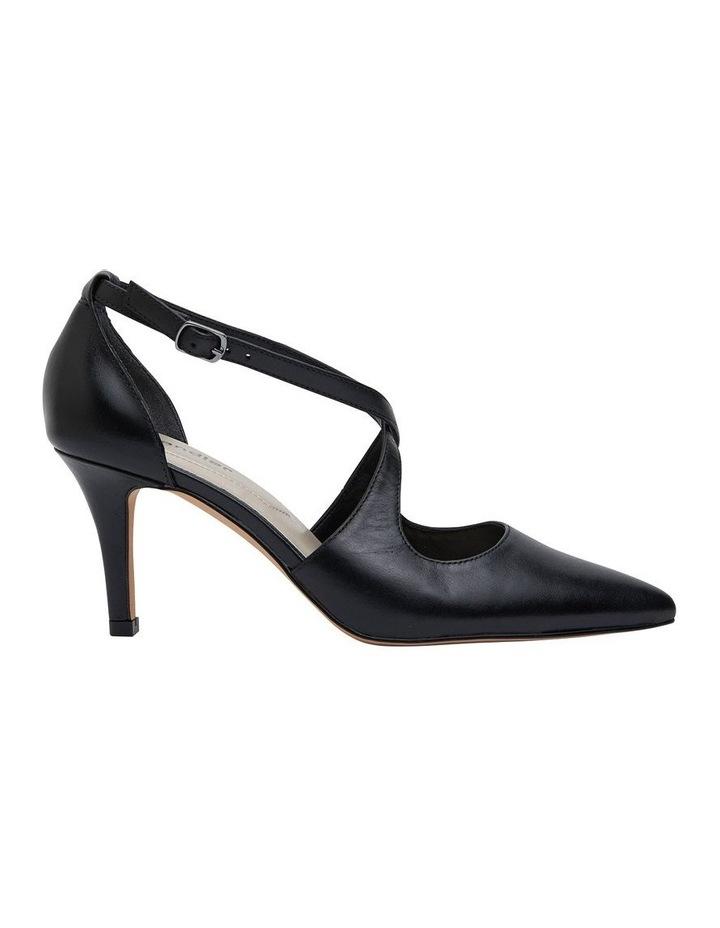 Merit Black Glove Heeled Shoes image 1