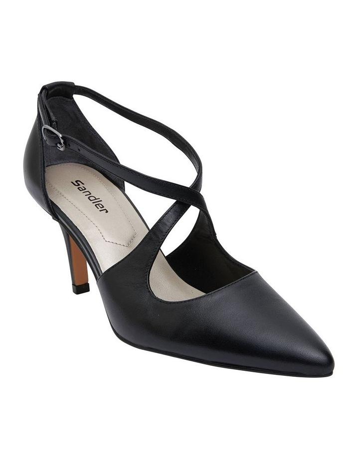 Merit Black Glove Heeled Shoes image 2