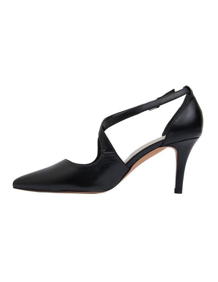 Merit Black Glove Heeled Shoes image 3