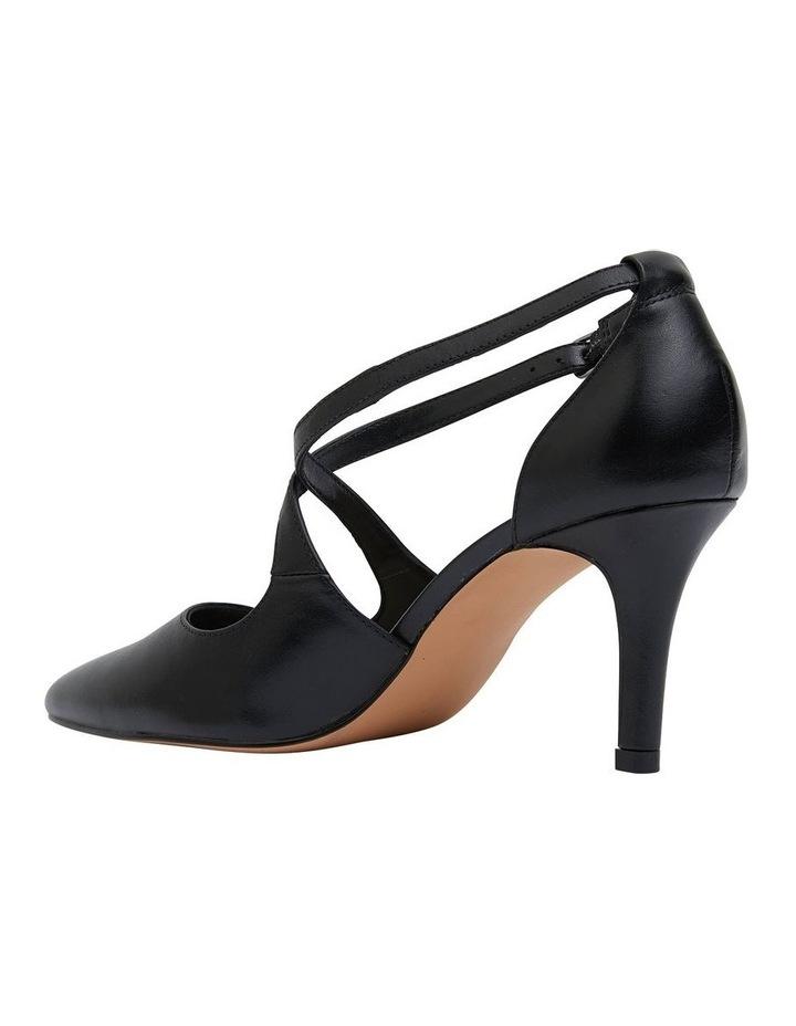 Merit Black Glove Heeled Shoes image 4