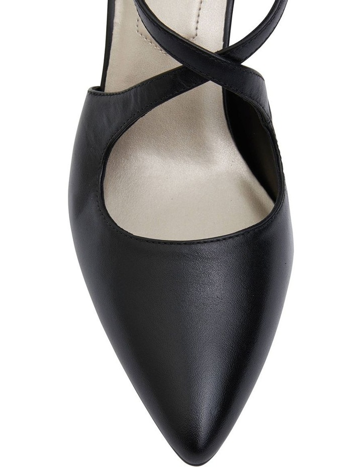 Merit Black Glove Heeled Shoes image 5