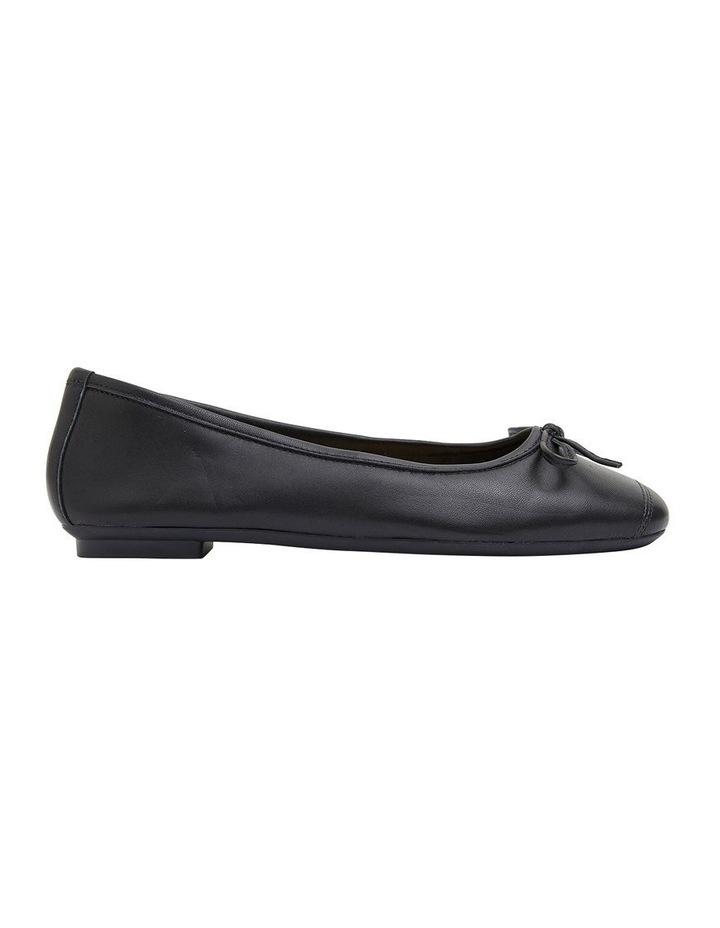 Alexa Black Glove/Softee Flat Shoes image 1