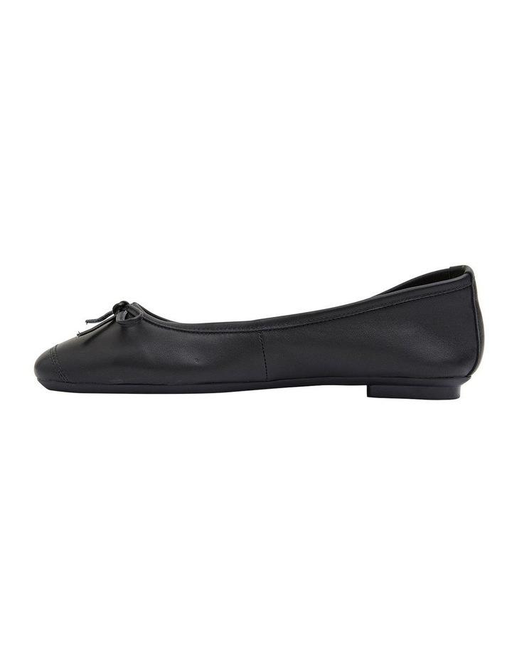 Alexa Black Glove/Softee Flat Shoes image 3