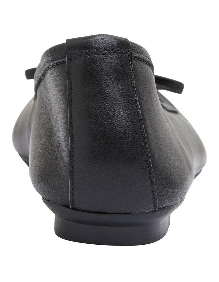 Alexa Black Glove/Softee Flat Shoes image 6
