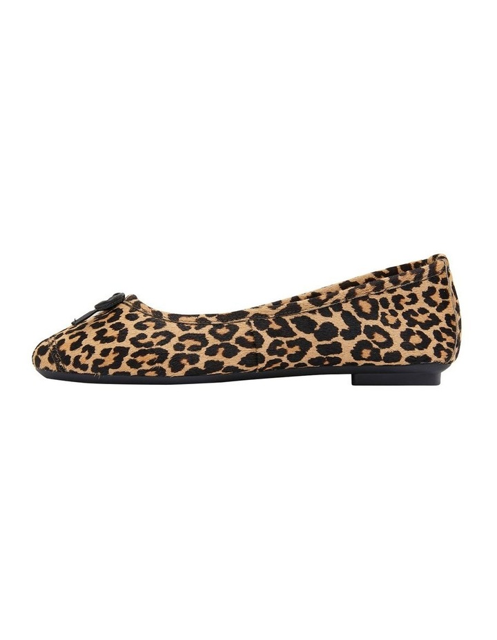 Alexa Animal Hair Flat Shoes image 3