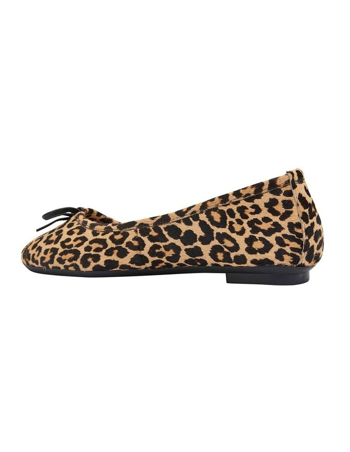 Alexa Animal Hair Flat Shoes image 4
