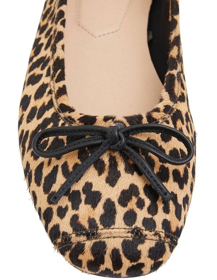 Alexa Animal Hair Flat Shoes image 5