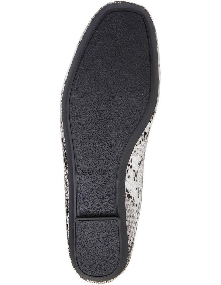Alexa Taupe Snake Flat Shoes image 7