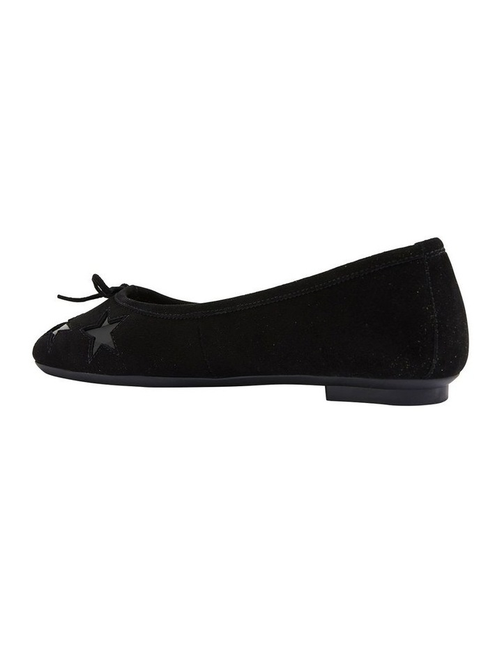 Astral Black Suede/Patent Flat Shoes image 4