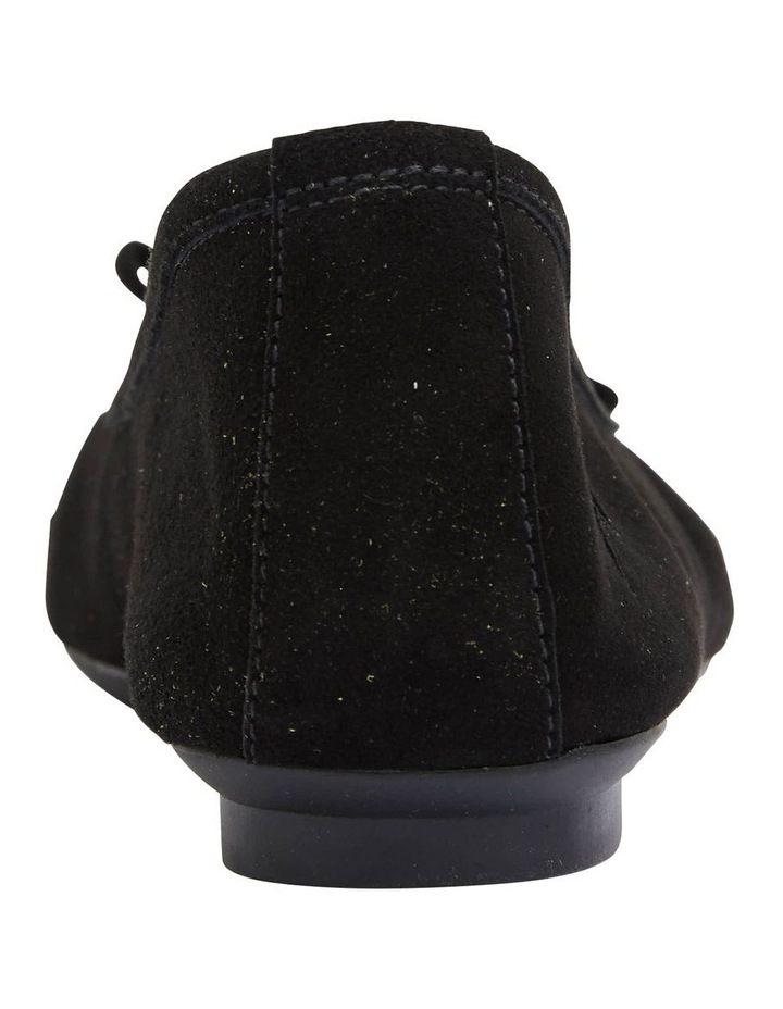 Astral Black Suede/Patent Flat Shoes image 6
