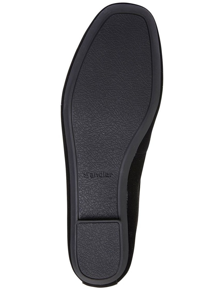 Astral Black Suede/Patent Flat Shoes image 7