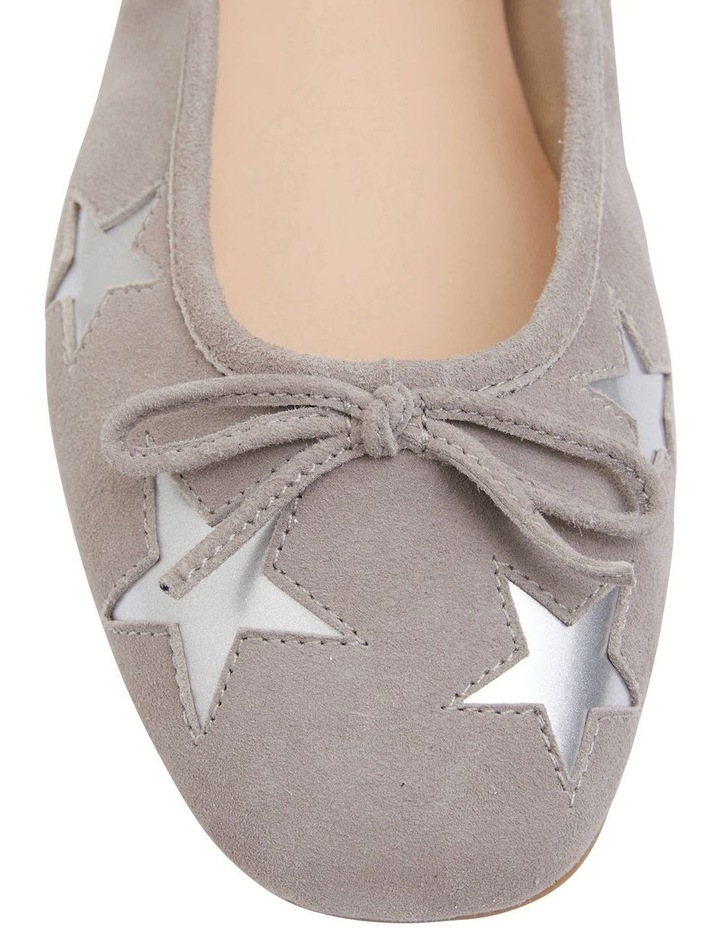 constant repertoire manly  Sandler Astral Grey Suede/Silver Flat Shoes | MYER