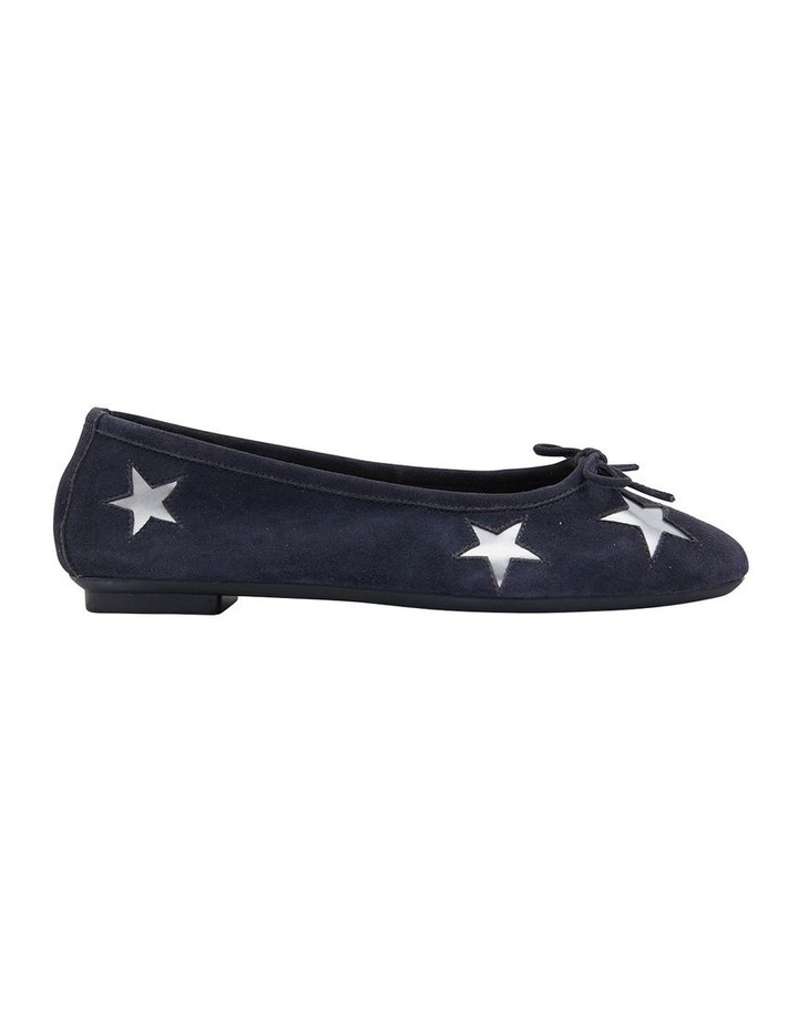 Astral Navy Suede/Silver Flat Shoes image 1