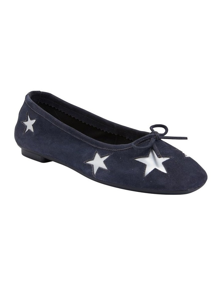 Astral Navy Suede/Silver Flat Shoes image 2