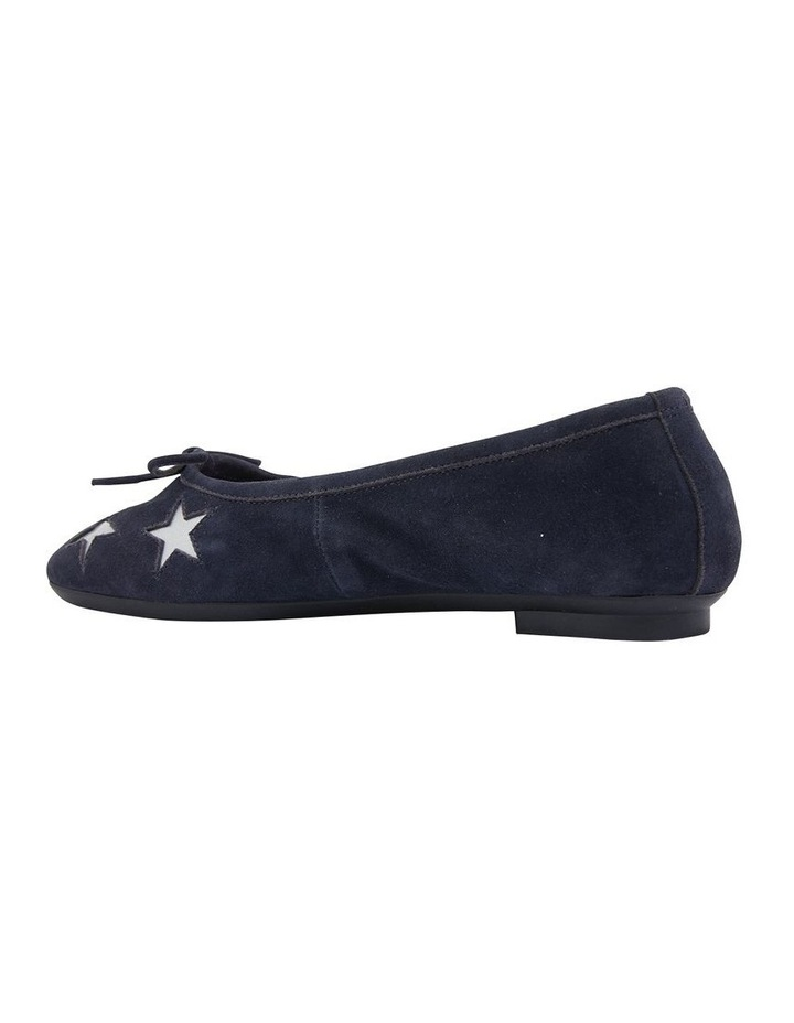 Astral Navy Suede/Silver Flat Shoes image 4