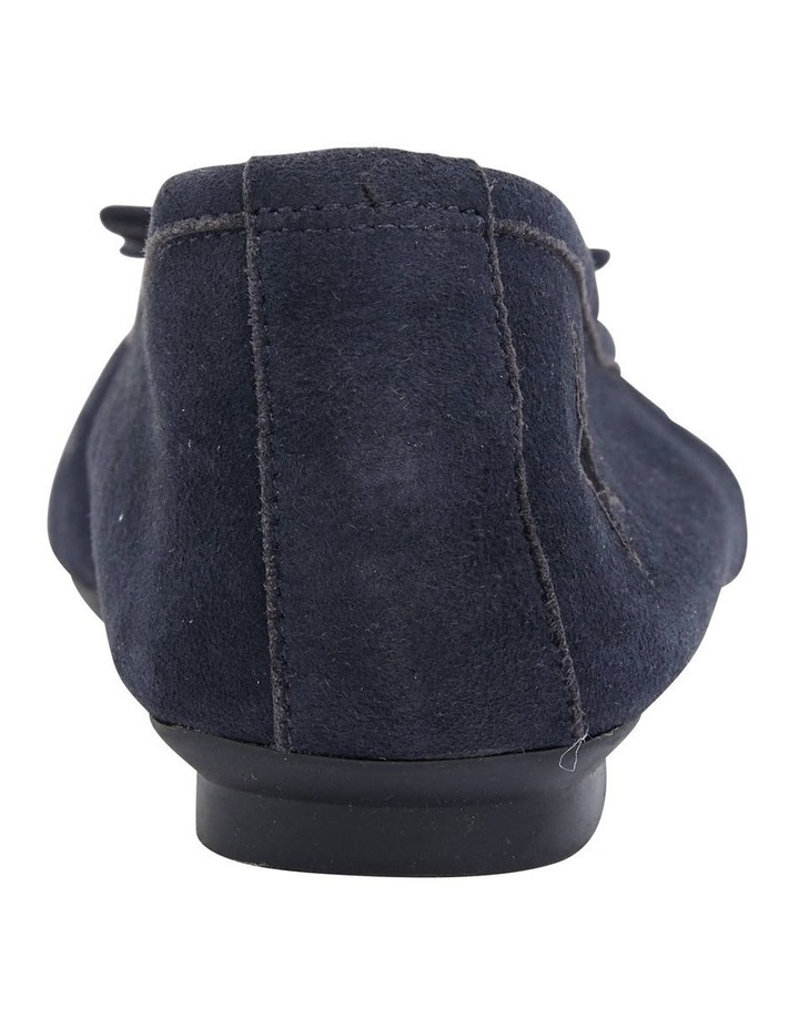 Astral Navy Suede/Silver Flat Shoes image 6