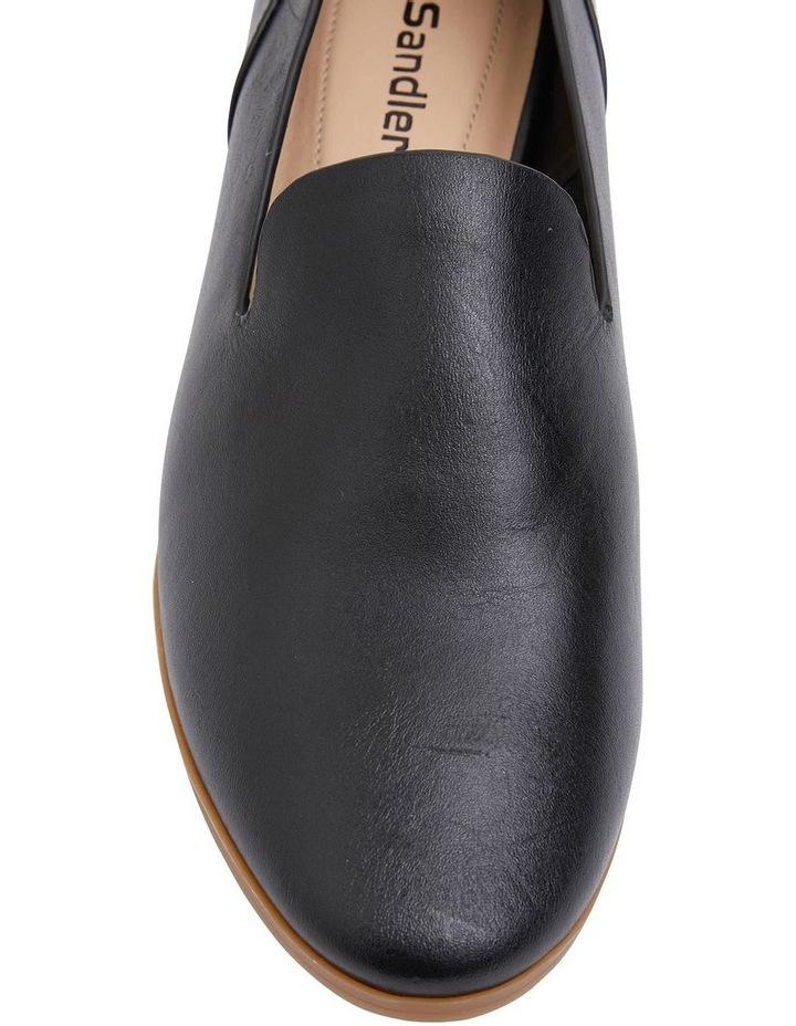 Talbot Black Glove Flat Shoes image 5