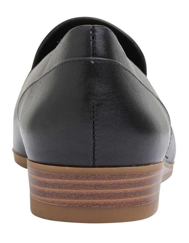 Talbot Black Glove Flat Shoes image 6