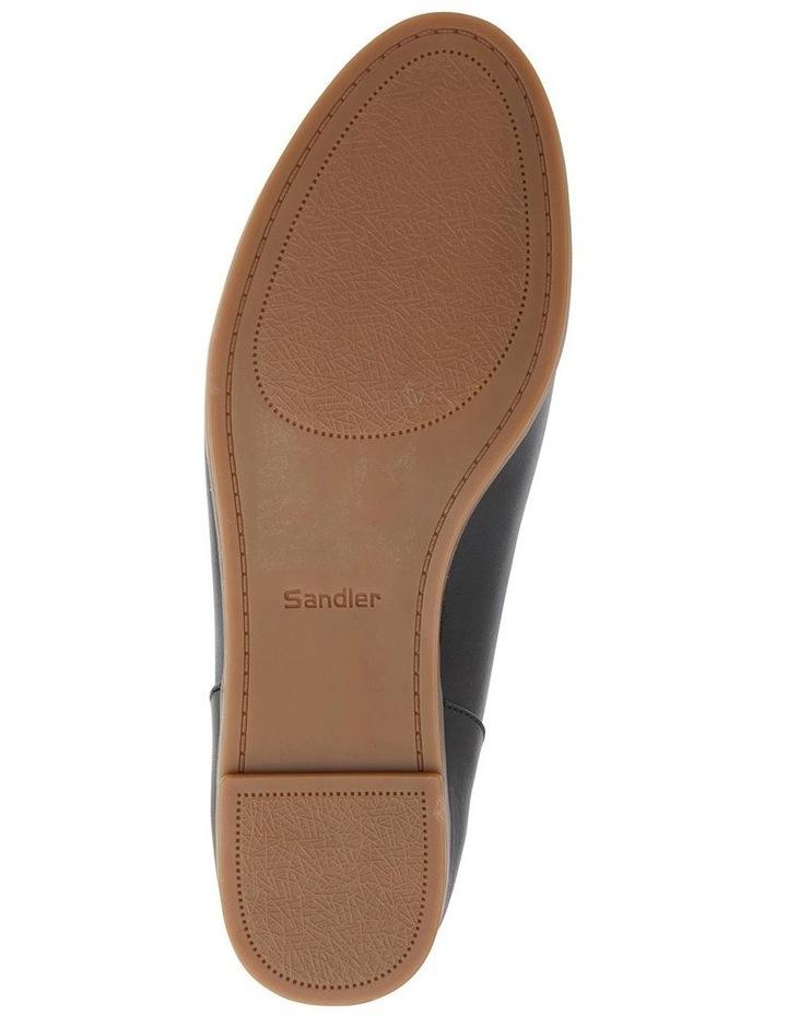 Talbot Black Glove Flat Shoes image 7