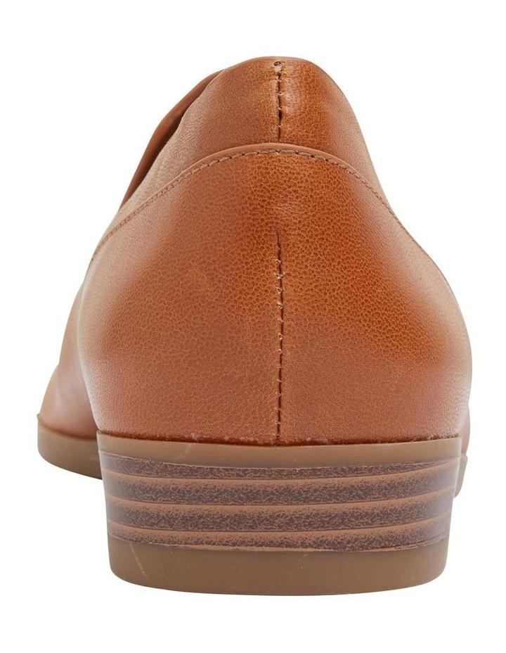 Talbot Cognac Glove Flat Shoes image 6