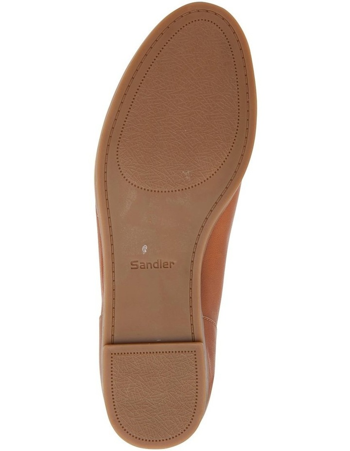 Talbot Cognac Glove Flat Shoes image 7