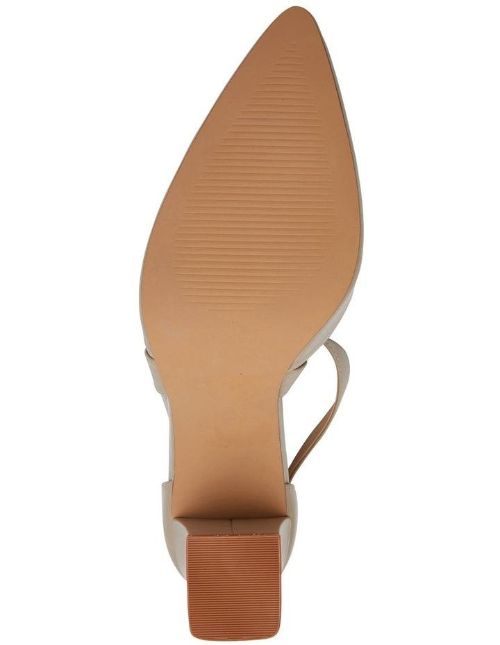 Kara Nude Glove Heeled Shoes image 7