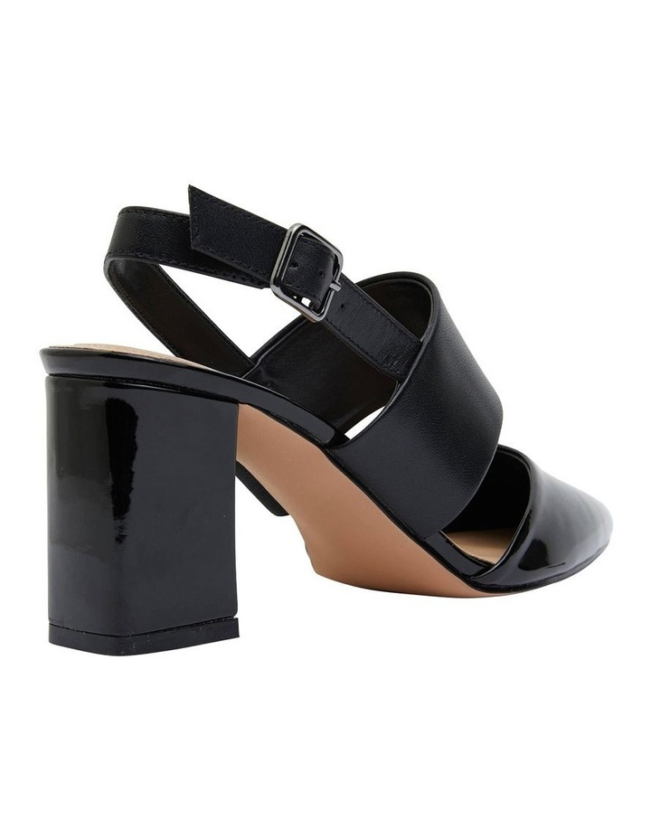 Kitson Black Patent/Glove Heeled Shoes image 7