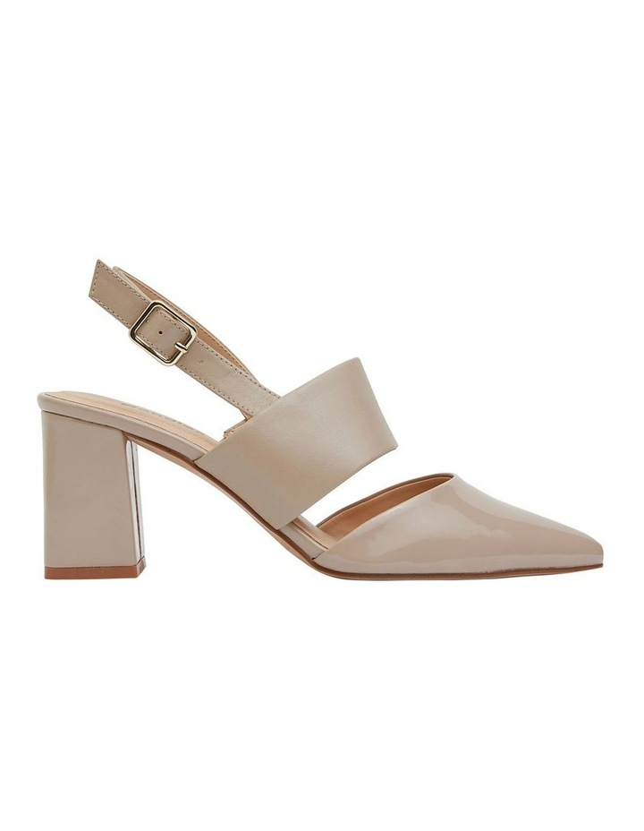 Kitson Nude Patent/Glove Heeled Shoes image 1