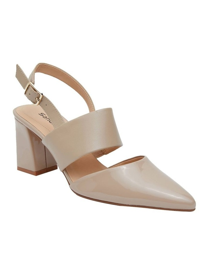 Kitson Nude Patent/Glove Heeled Shoes image 2