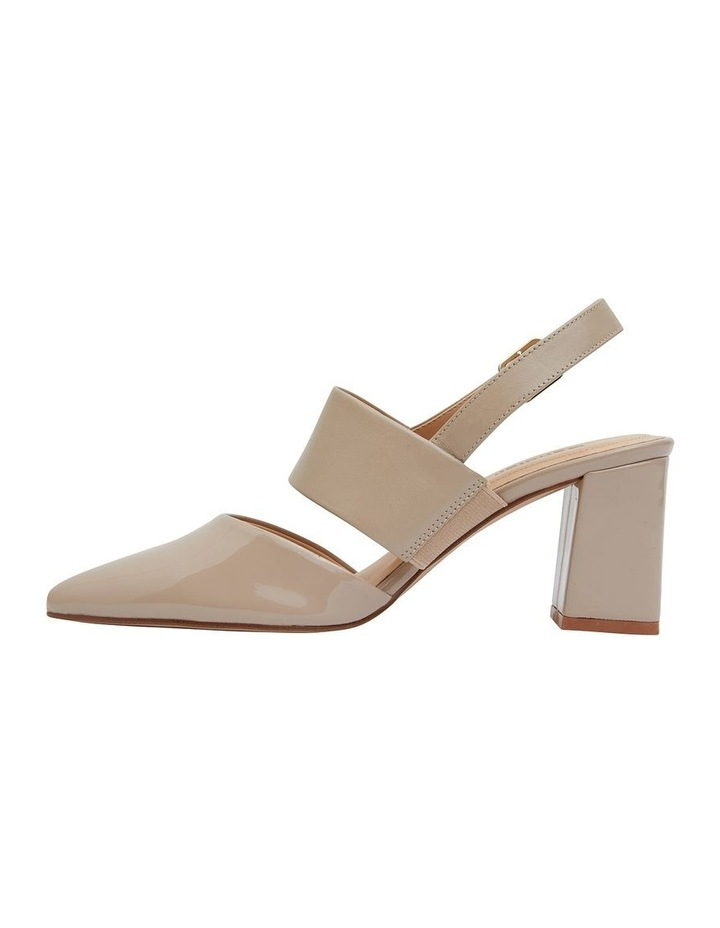 Kitson Nude Patent/Glove Heeled Shoes image 3