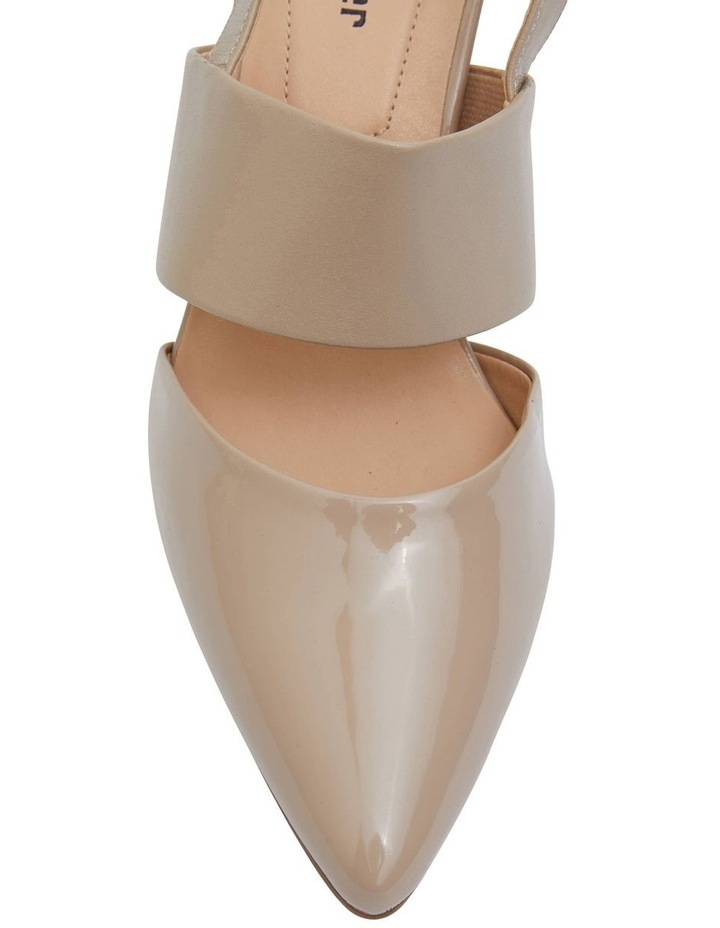 Kitson Nude Patent/Glove Heeled Shoes image 5