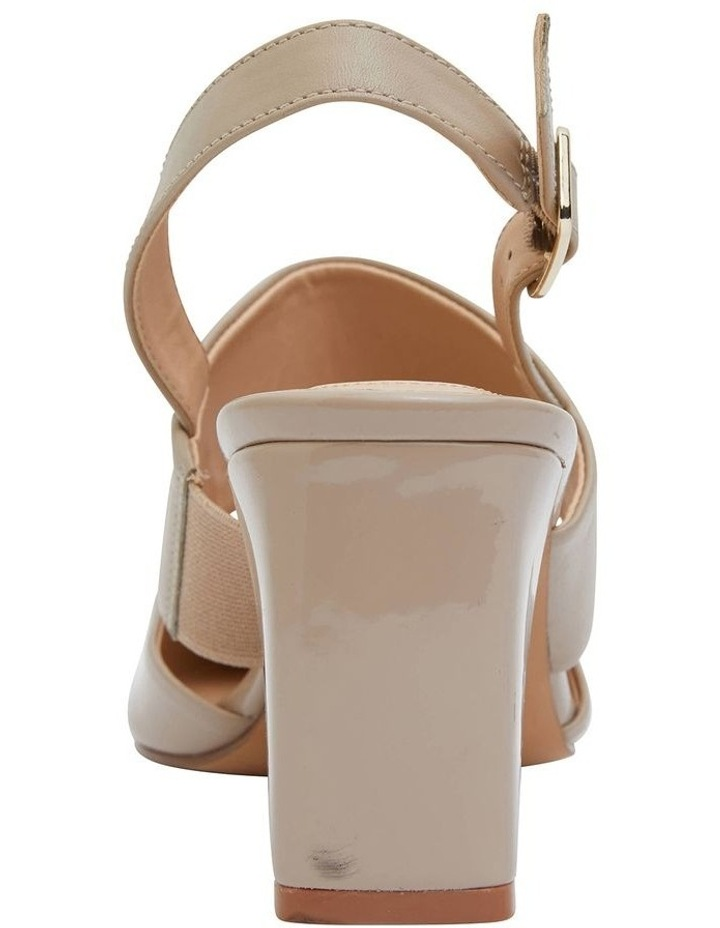 Kitson Nude Patent/Glove Heeled Shoes image 6