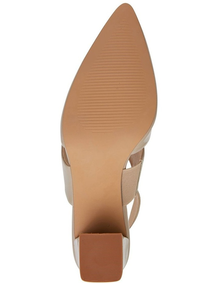 Kitson Nude Patent/Glove Heeled Shoes image 7