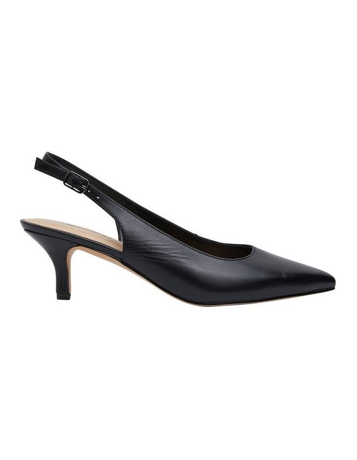 Nina Black Glove Heeled Shoes image 1