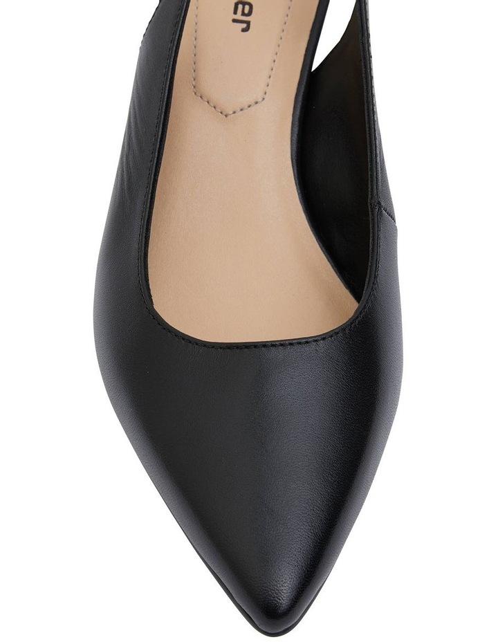 Nina Black Glove Heeled Shoes image 5