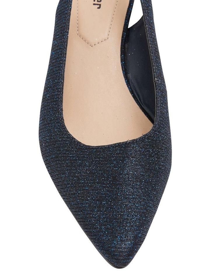 Nina Navy Sparkle Heeled Shoes image 5