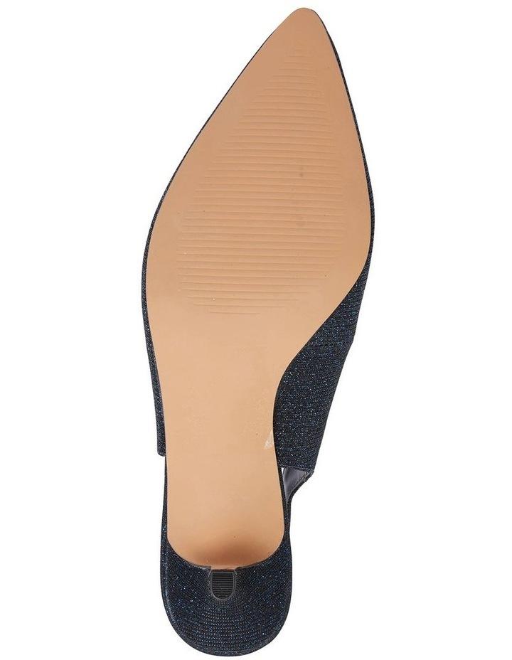 Nina Navy Sparkle Heeled Shoes image 7
