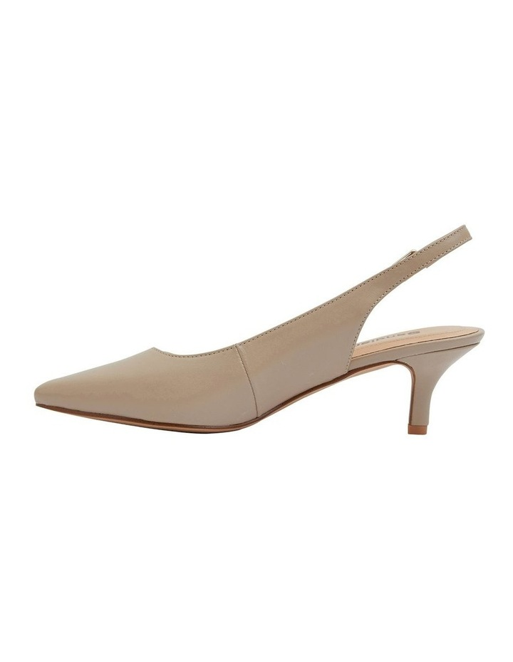 Nina Nude Glove Heeled Shoes image 3