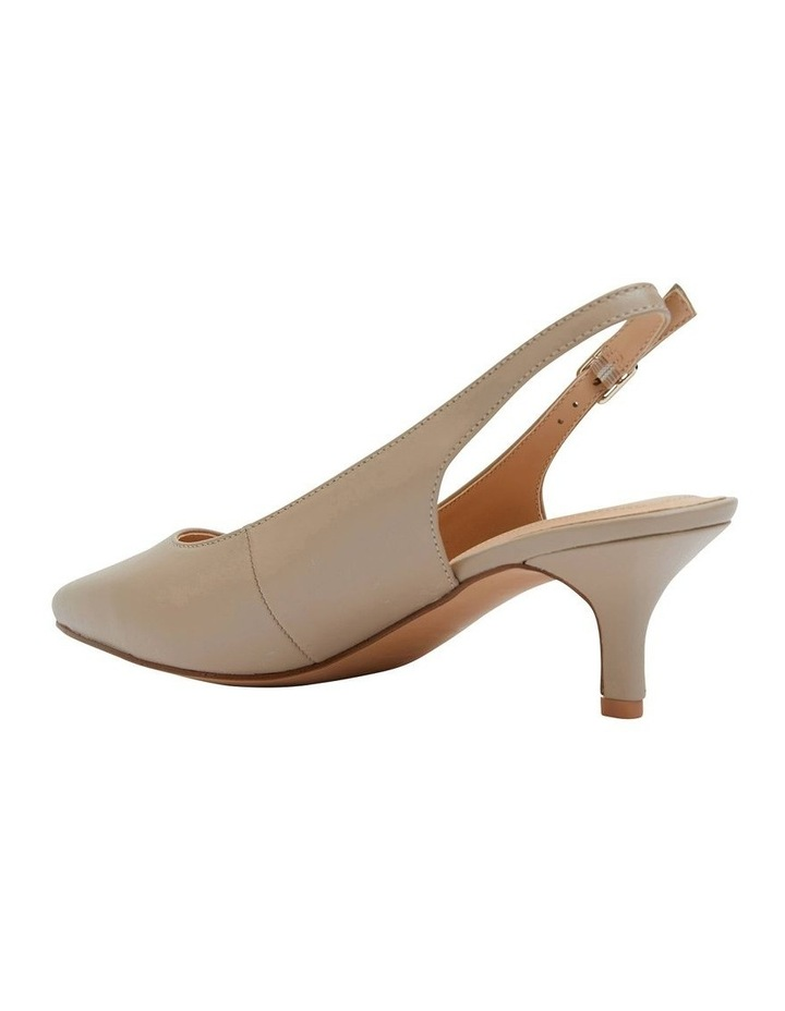 Nina Nude Glove Heeled Shoes image 4