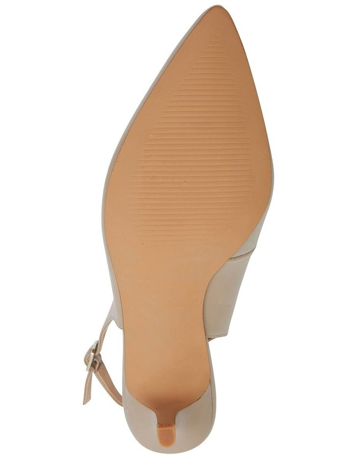 Nina Nude Glove Heeled Shoes image 7