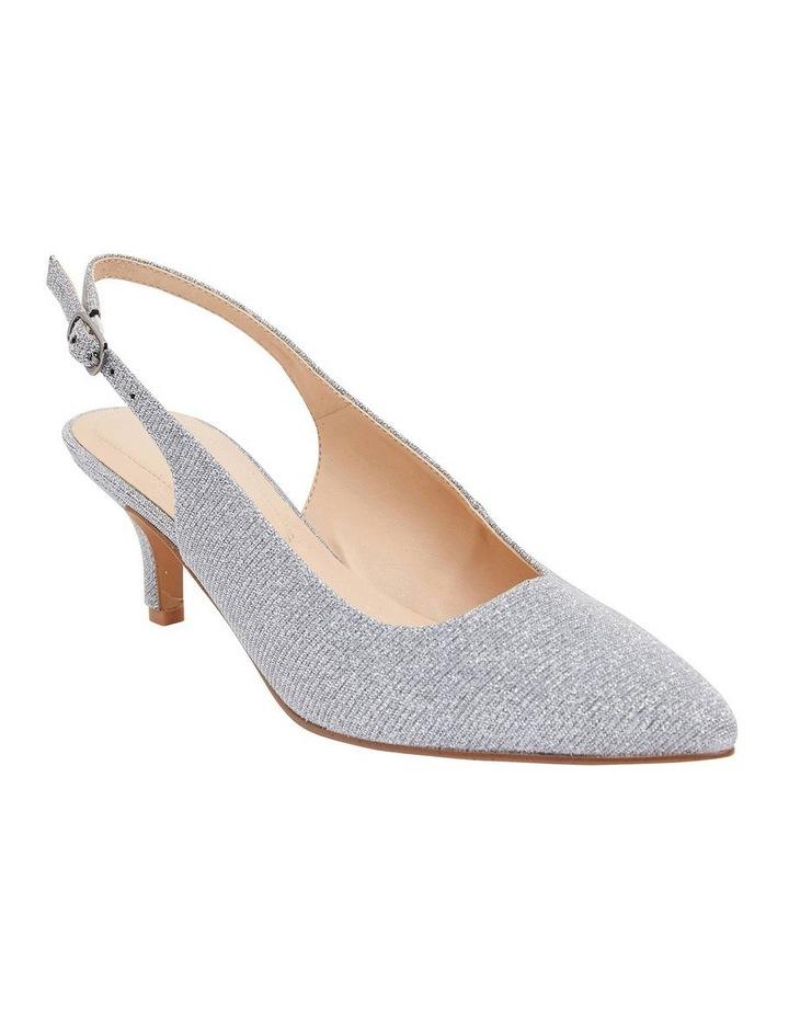 Nina Pewter Sparkle Heeled Shoes image 2